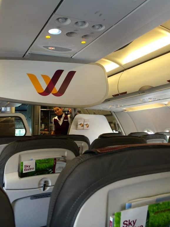 Smart service on Germanwings' low cost flights