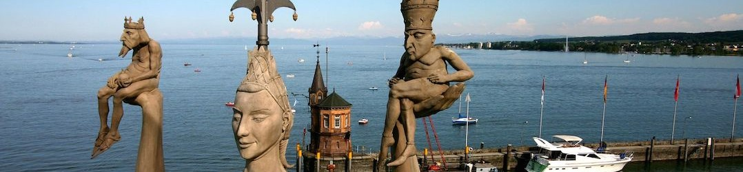 The Imperia Statue in Lake Constance pic Achim Mende