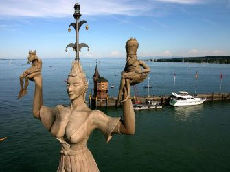 UNESCO World Heritage Sites and time travel in Lake Constance, Germany