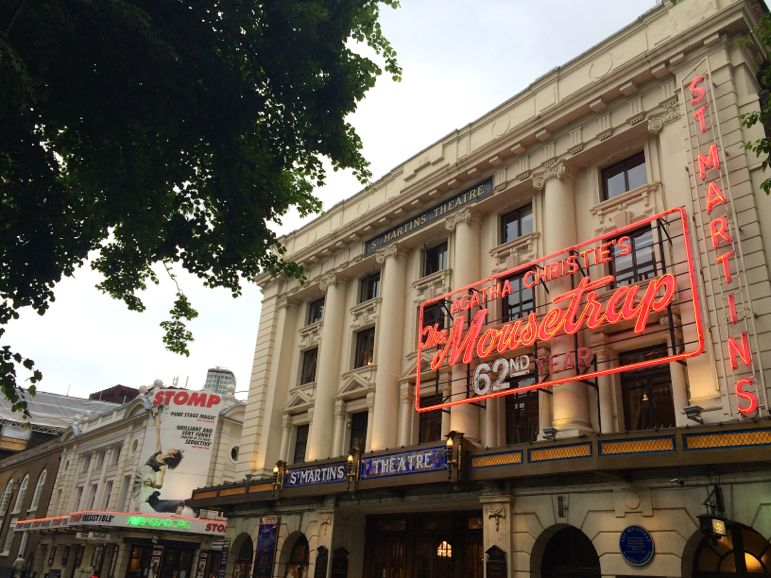 The Mousetrap is the longest running show in London Theatreland
