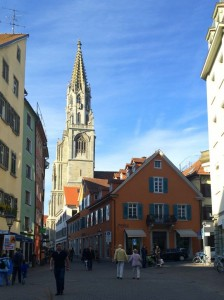 The town centre of Constance, Germany