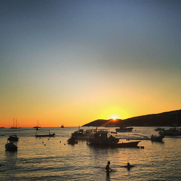 A perfect end to a perfect trip - travelling together to Hvar, Croatia