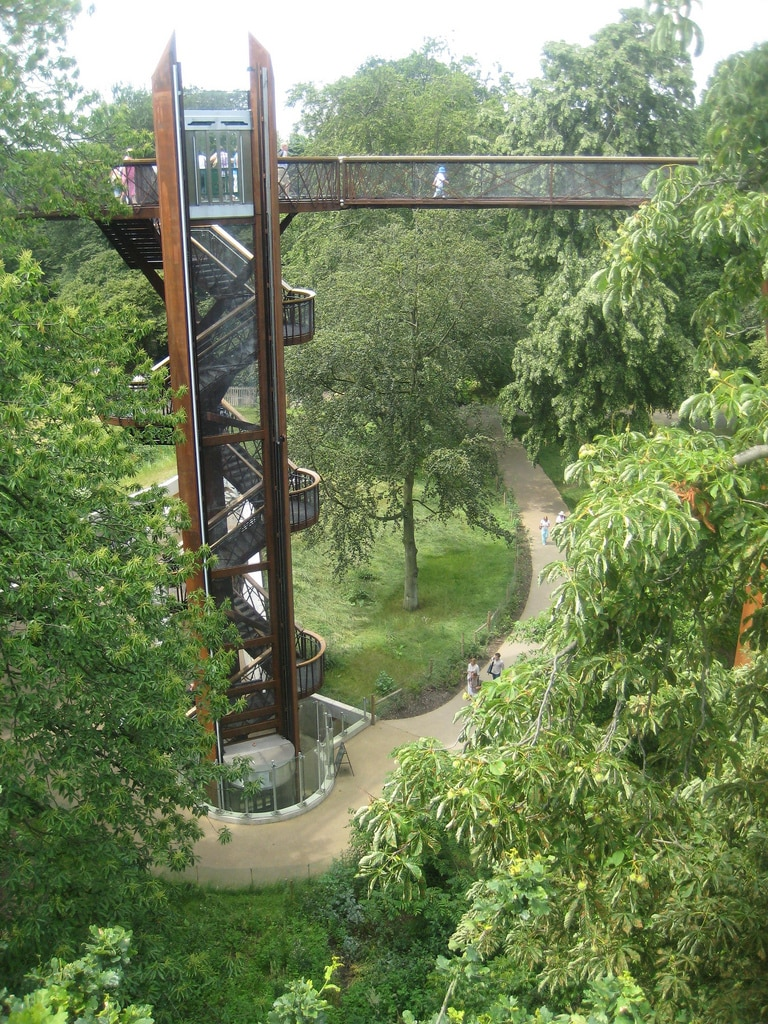 Places to go in London - Kew Gardens' tree top walk