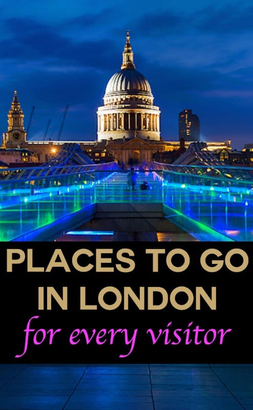 Places to go in London for every visitor | pic: Rainprel
