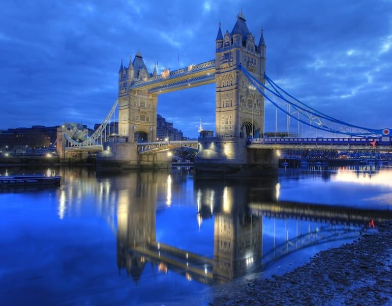 Tower Bridge, one of the best places to go in London | pic: Anirudh Koul