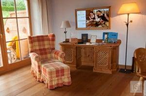 Our luxury suite at Bio-Hotel Stanglwirt, Tirol Austria