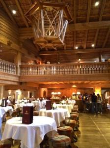 Bar at Bio-Hotel Stanglwirt, in Tirol Austria