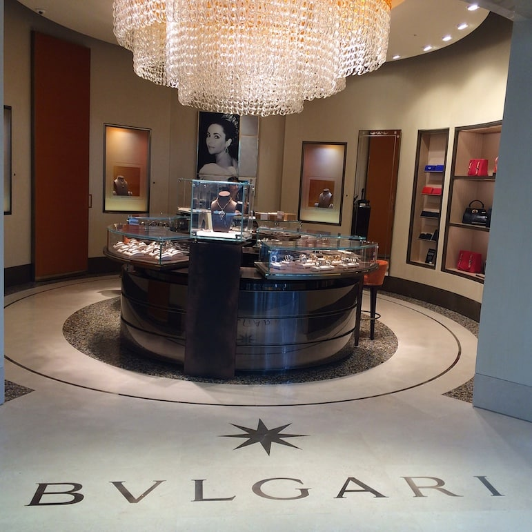 Bulgari channels Elisabeth Taylor at Heathrow Terminal 2