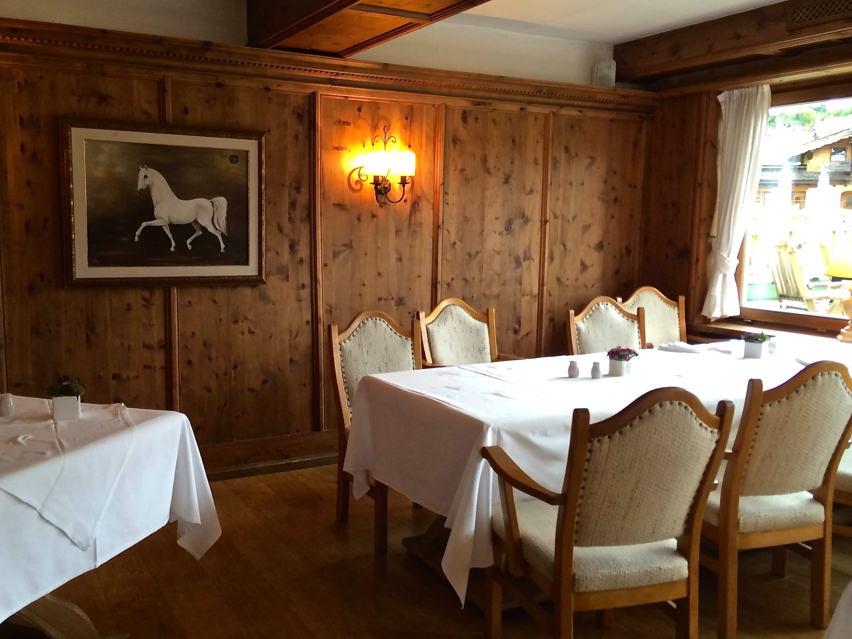 Dining at Bio-Hotel Stanglwirt in Tirol Austria