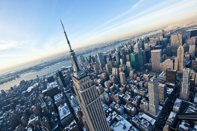 Places to go in New York - the Empire State Building