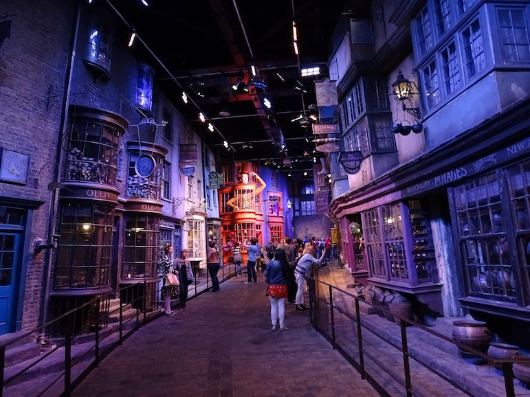 The Harry Potter Studio Tour is one of the latest attractions to surprise and delight London visitors | Pic-Chris Street