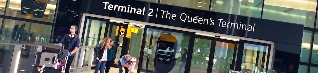 Heathrow Terminal 2 - The Queen's Terminal