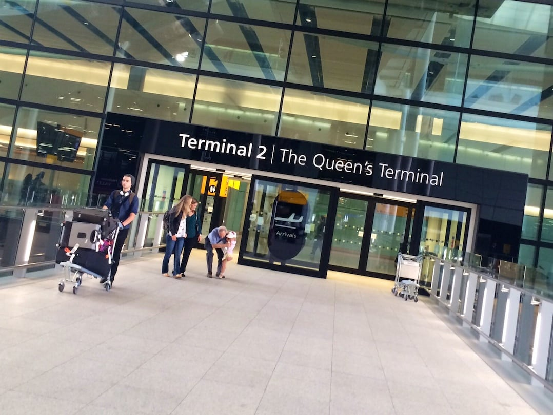 Heathrow Terminal 2 - The Queen's Terminal