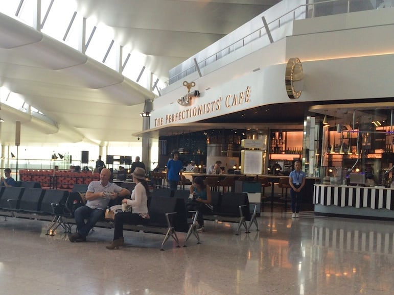Heston Bluhmenthal's The Perfectionists' Cafe, Heathrow Terminal 2