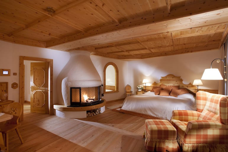 Luxury suite at Bio-Hotel Stanglwirt in Tirol Austria