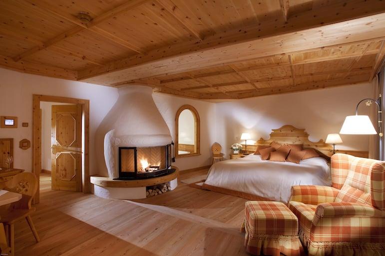 Luxury suite at Bio-Hotel Stanglwirt in Tirol Austria