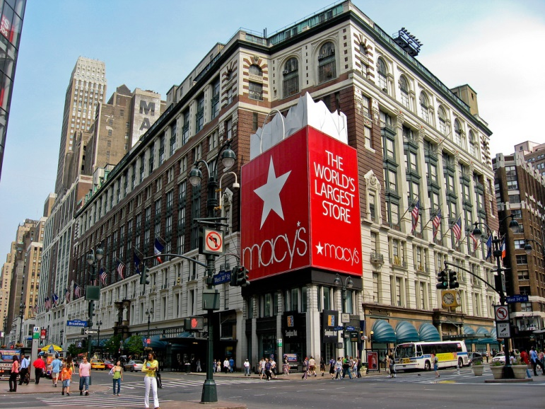 One of our favourite places to go in New York for shopping - Macy's