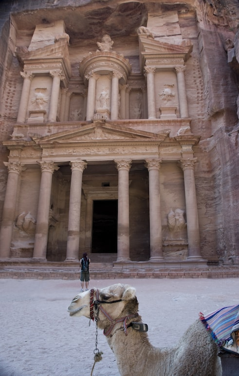 Meet local people - and more, in Petra, Jordan