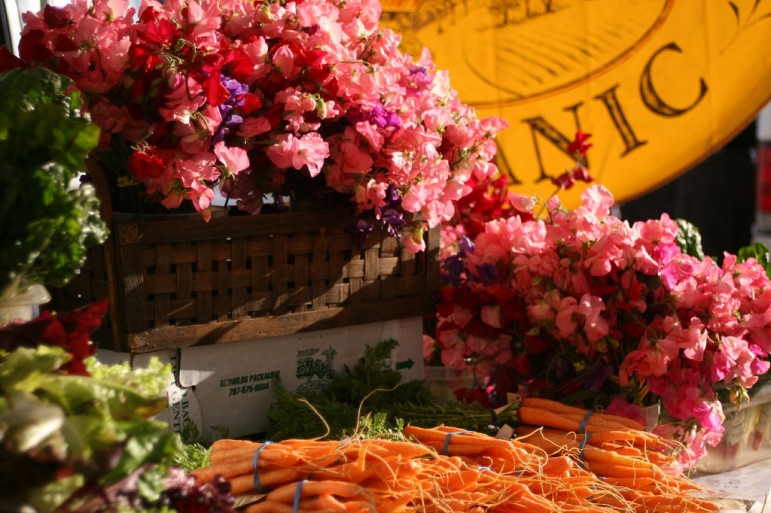 Farmer's Market at The Ferry Plaza. Pic: Eric Heath