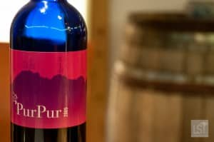 An unmissible wine - PurPur at one of Austria's most luxurious hotels