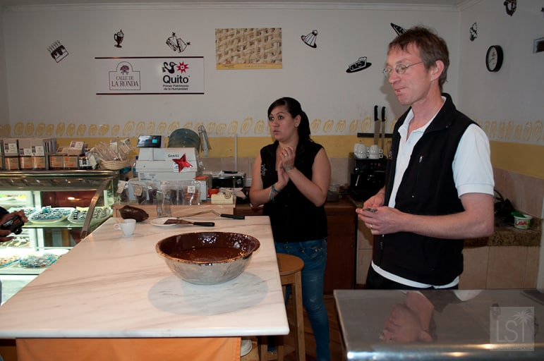 Things to do in Quito - go for a chocolate making demonstration