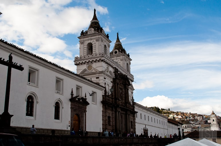 Church of San Francisco in Quito