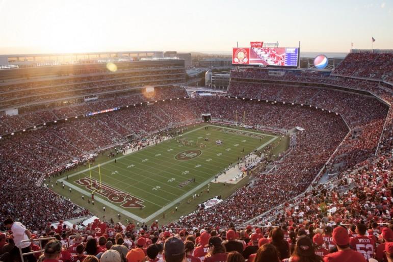 Levi's Stadium. Pic: Matthew Roth