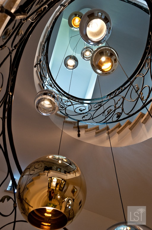 Seeing the light in the lobby of the Kaiserhof, one of Austria's most luxurious hotels