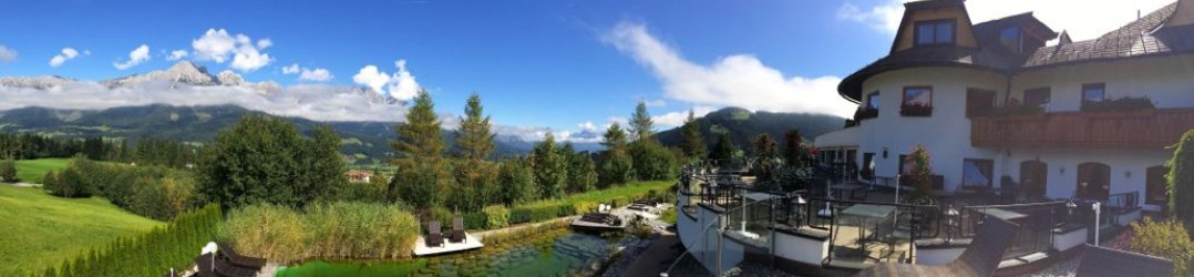 The Kaiserhof Hotel is one of the most luxurious hotels in Austria and has views of the Wilder Kaiser mountain range