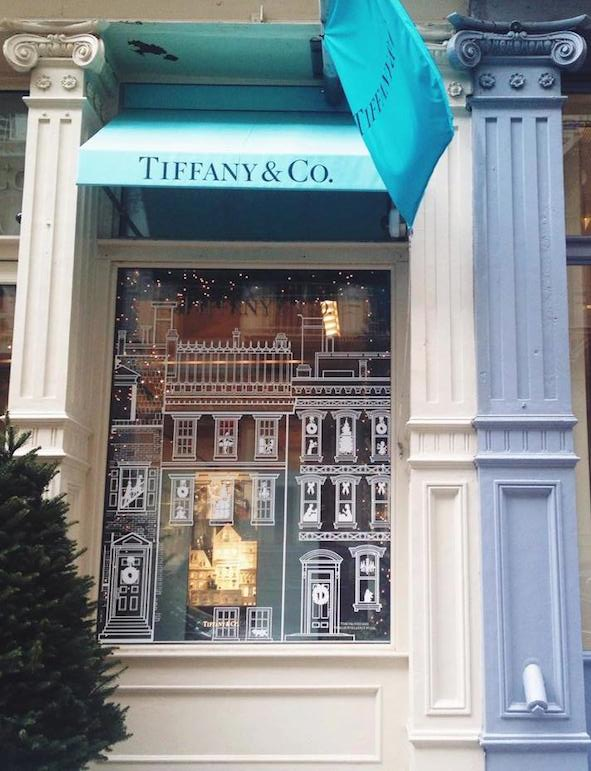 Tiffany & Co. one of the top places to go in New York for shopping