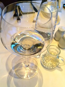 When staying at one of most luxurious hotels in Austria you have to try their own Chardonnay