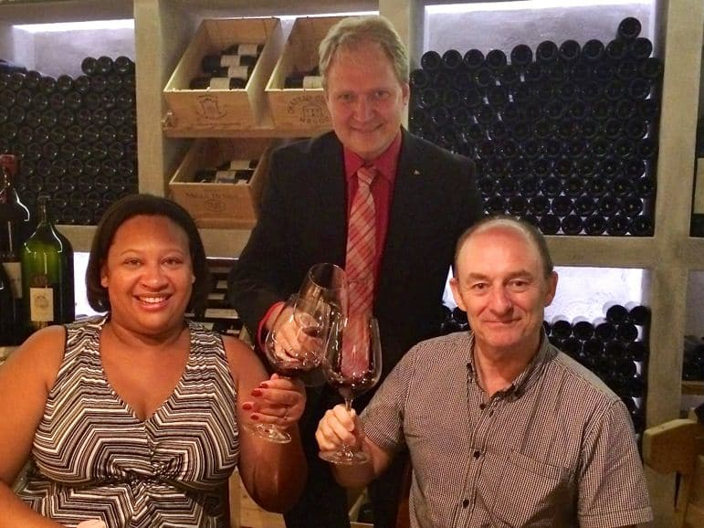 Wine tasting with Karl Rotheneder
