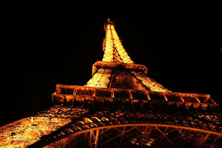 The Eiffel Tower, one of the most spectacular places to go in Paris | Pic: Esther Lee