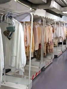 Costumes at Teatro Real, Madrid
