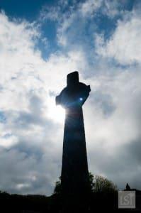 Cross near Iona Nunnery