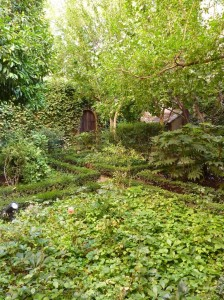 Garden at the house lived in by Spanish playwright Lope de Vega - things to do in Madrid