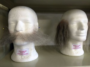 Hair pieces at Teatro Real