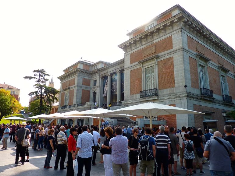 Museo del Prado is one of many great cultural things to do in Madrid