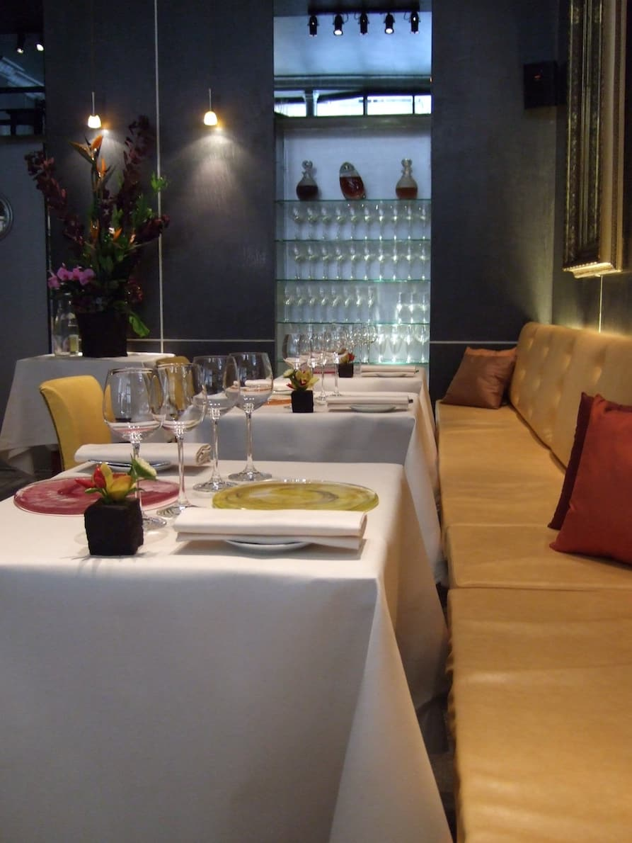 Places to go in Paris - L'Astrance for dinner