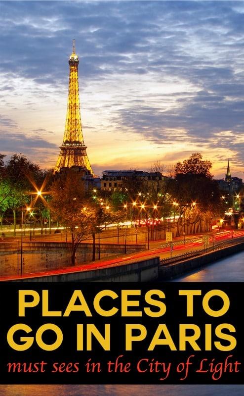 Places to go in Paris | pic: James Whitesmith