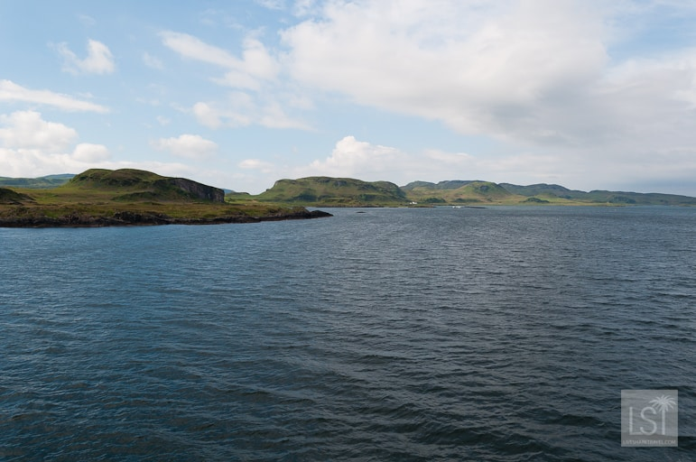 Sailing from the west coast of Scotland
