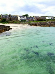 The Bahamas? No, it's Iona, an island off the west coast of Scotland