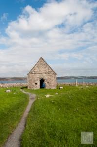The peace of Iona, off the west coast of Scotland