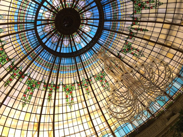 Things to do in Madrid - listen as the glass dome La Rotonda is filled with arias