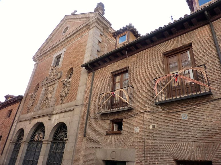 Things to do in Madrid - take a walk in the Literary Quarter to see Convent of Trinitarians, Cervantes' final resting place