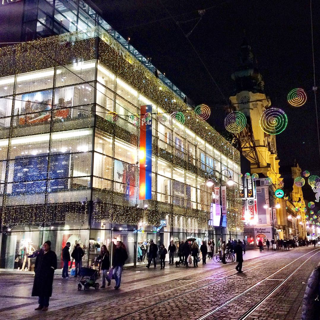 A very festive Linz during Austrian Christmas markets