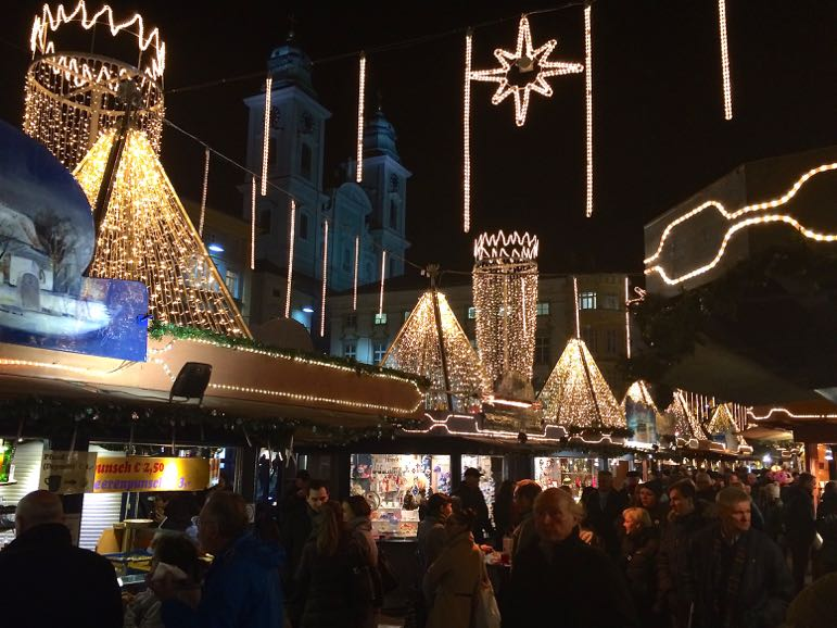 At Linz's Austrian Chrismtas markets