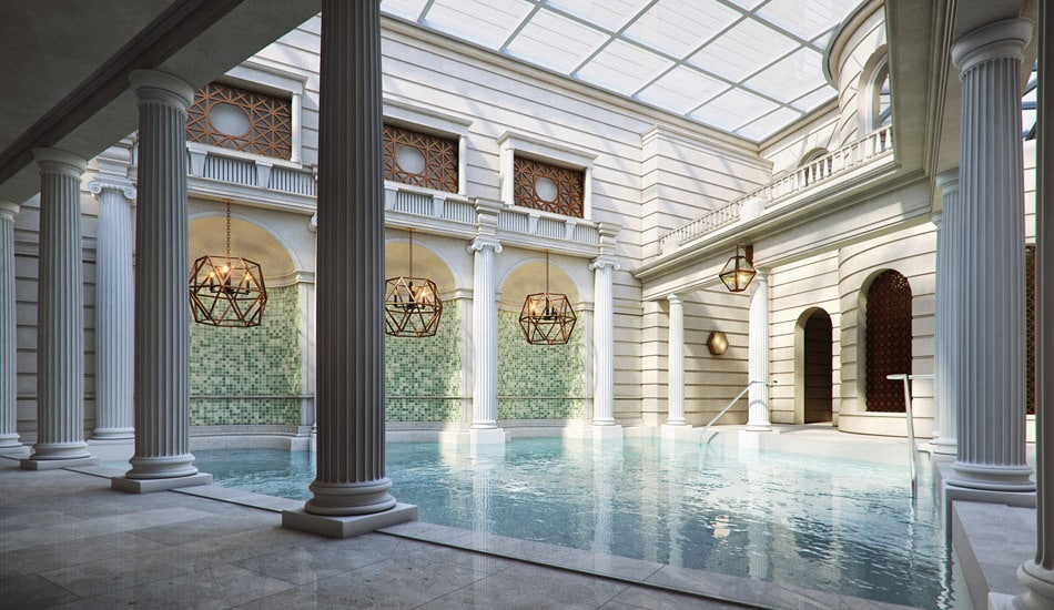 Best places to go in the world in 2015 - the spa at The Gainsborough, Bath