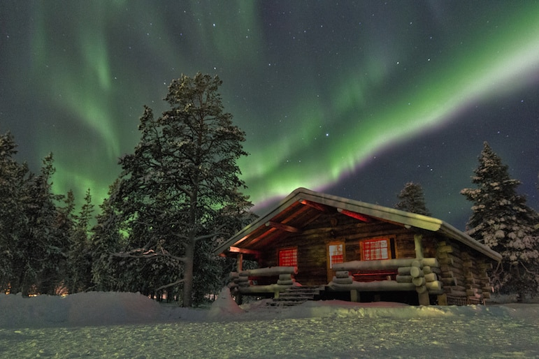 Best places to go in the world now - Finnish Lapland to see the Aurora Borelis | pic Chris