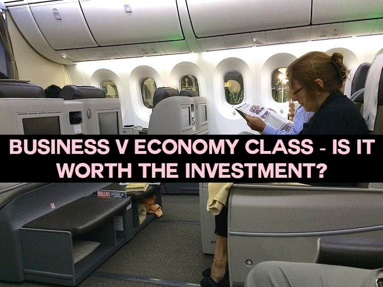 Royal Brunei Airlines Business Class V Economy Class Review